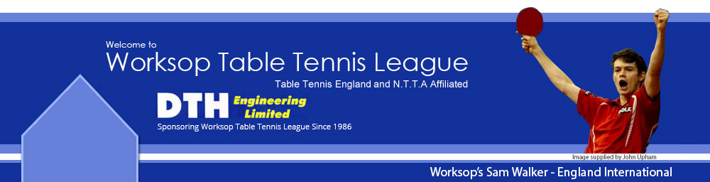 Worksop Table Tennis League
